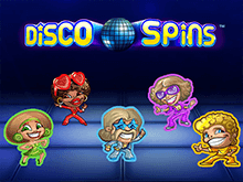 Играть в казино на деньги в Disco Spins