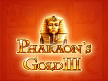 Игровой автомат Pharaohs Gold III в казино Вулкан