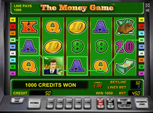 The Money Game - играть в казино Вулкан