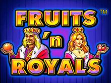 Игровой автомат Fruits and Royals в казино Вулкан