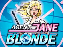 Игра на онлайн аппарате Agent Jane Blonde