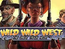 В Вулкан клубе Дикий Дикий Запад: Великое Ограбление Поезда